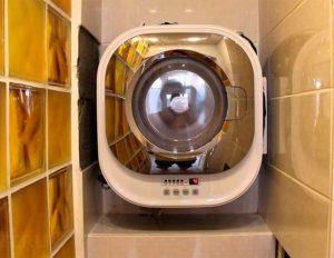 Необычная настенная стиральная машина из 3 элементов