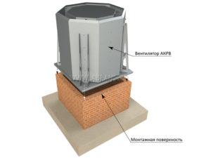 Монтаж крышного вентилятора на кровле