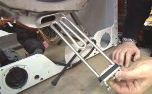 Самостоятельная замена тэна в 5 моделях стиральных машин