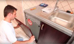 Посудомоечная машина под раковину – устанавливаем правильно