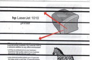 Принтер печатает полосами – способы устранения неполадок
