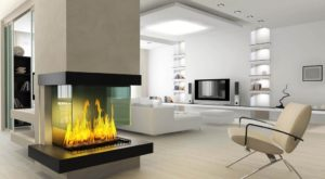 Современные электрокамины для дома и квартиры