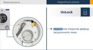 Как открыть дверцу стиральной машинки если она заблокирована?