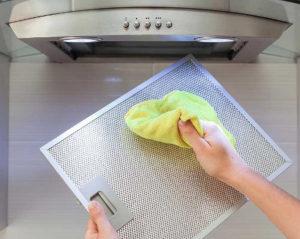 Как очистить вытяжку на кухне от жира: 3 способа
