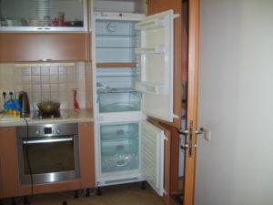 Встраиваемый холодильник. За и против
