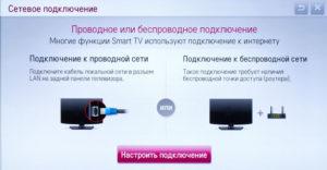 Как настроить и подключить телевизор к интернету через кабель роутер и wifi