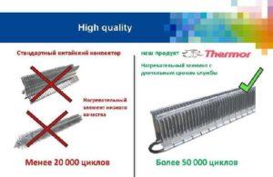 Какой нагревательный элемент для конвектора лучше?