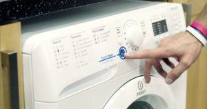 Как выключить стиральную машину
