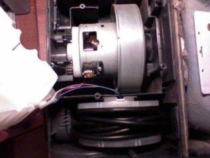 Как разобрать мотор пылесоса LG: последовательность действий и способы