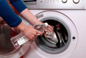 Как почистить стиральную машинку от накипи уксусом