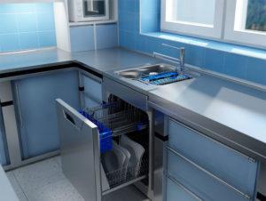 Маленькая посудомоечная машина: под раковину встраиваемые