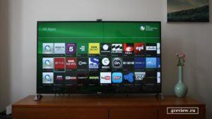 Как установить приложения для Sony Smart TV