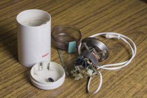 Разборка и ремонт кофемолки своими руками