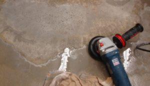 Грамотная шлифовка бетона болгаркой