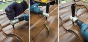 Насадки на дрель для резки металла: фреза-шарошка ножницы сверчок коронки заклепочник