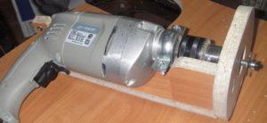 Как сделать фрезер из дрели болгарки и двигателя от стиральной машины своими руками