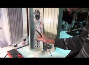 Ремонт масляного обогревателя своими руками