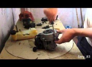 Ремонт бензинового и электрического триммера своими руками замена поршневых колец сальников и других узлов