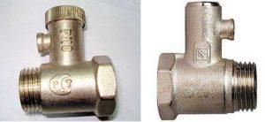 Предохранительный клапан для водонагревателя: принцип работы разновидности монтаж