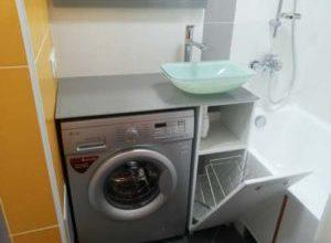 Стиральные машины встроенные под столешницу в кухне или в ванной комнате