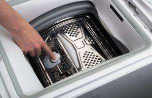 Как открыть барабан стиральной машины?
