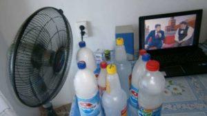 Как сделать кондиционер своими руками из холодильника кулера пластиковых бутылок