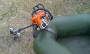 Самоделки из бензопилы: лодочный мотор пилорама газонокосилка снегоуборщик картинг и другие