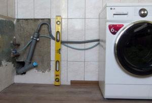 Подключение стиральной машины автомат к водопроводу канализации и электричеству
