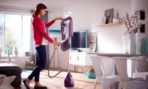 Пароочиститель для одежды: ручной и напольный как отпаривать вещи